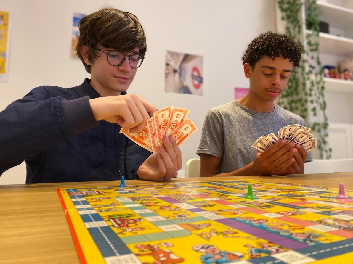 Playing an Australian board game
